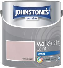 Johnstones Ballet Slipper Coloured Emulsion